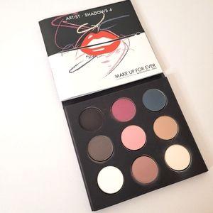 Makeup Forever 9 artist shadow pallet
